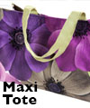 Maxi Tote Knitting Bag