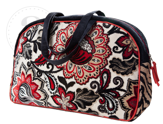 Atenti Paisley Bean Overnighter Bag