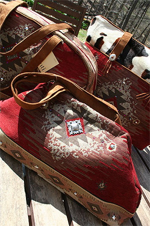 Atenti Luxury Knitting Bags And Overnight Travel Bags At