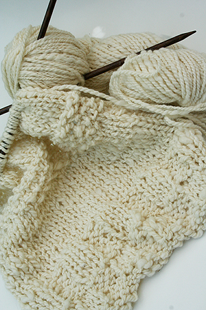 organic wool 2 ply worsted yarn