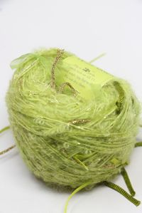 Be Sweet Ribbon Ball in Acid Green