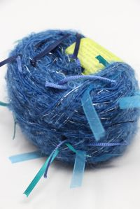 Be Sweet - Ribbon Ball Turquoise Navy