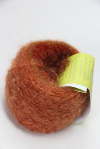 Be Sweet Mohair Self Striping Boucle Yarn Tuscan Terracotta