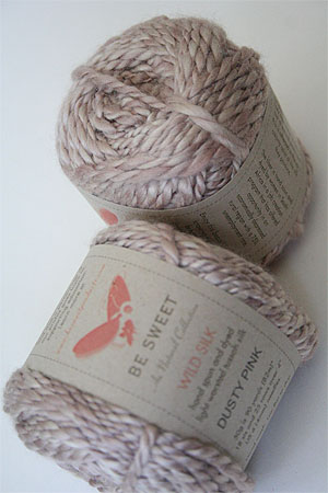 Be Sweet Au Dusty Pinks Wild Silk Yarn