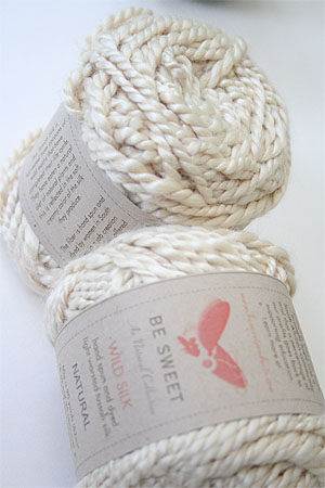 Be Sweet Au Naturals Wild Silk Yarn