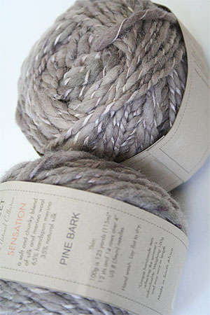 Be Sweet Sensation Merino and Silk Yarn in Pine Bark