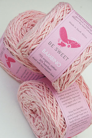 Be Sweet Bambino Yarn in baby pink