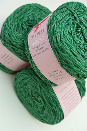 Be Sweet Bambino Yarn in sea green