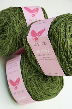 Be Sweet Bambino Yarn in seaweed