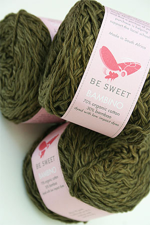 Be Sweet Bambino Yarn in olive