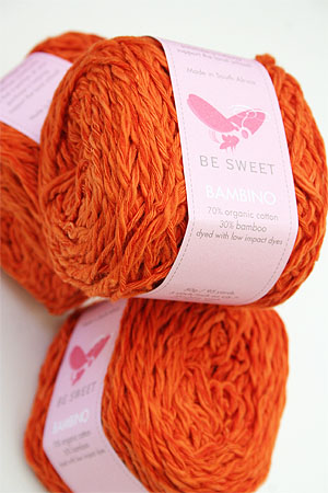 Be Sweet Bambino Yarn in orange