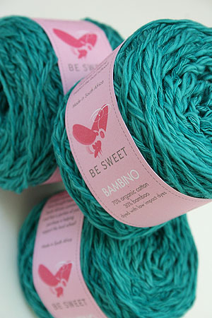 Be Sweet Bambino Yarn in  Teal