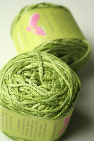 Be Sweet Bamboo Yarn in 651 Spring Green