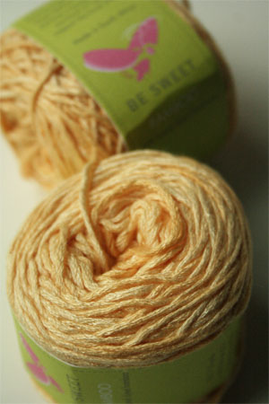 Be Sweet Bamboo Yarn in 606 Baby Yellow