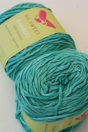 Be Sweet Bamboo Yarn in 655 Aqua