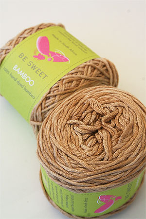 Be Sweet Bamboo Yarn in 623 Champagne