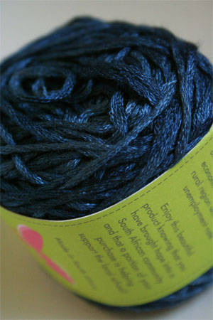 Be Sweet Bamboo Yarn in 677 Dark Denim