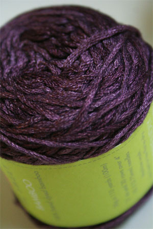 Be Sweet Bamboo Yarn in 685 Aubergine