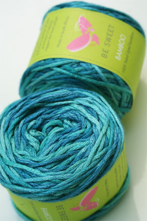 Be Sweet Bamboo Yarn in Seychelle