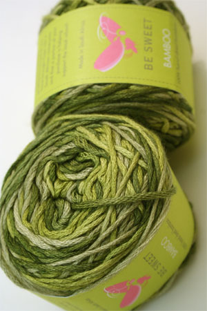 Be Sweet Bamboo Yarn in Tropicana