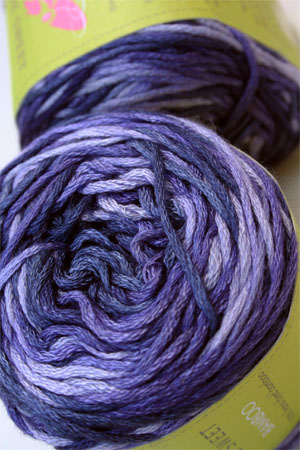 Be Sweet Bamboo Yarn in Purple Fantasy