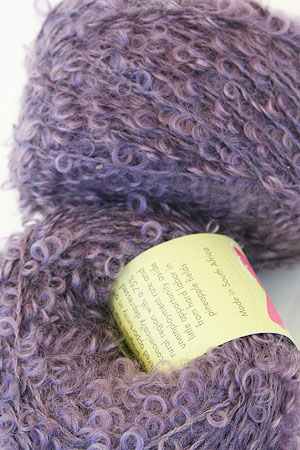Mohair Boucle in Pale Amethyst
