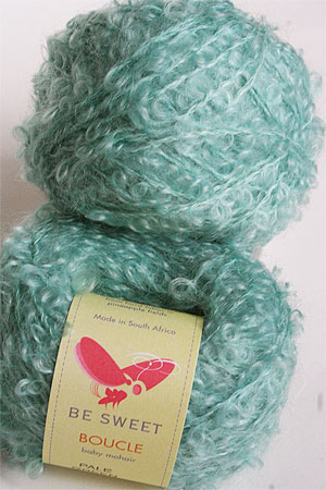 Be Sweet Mohair Boucle Yarn Pale Green