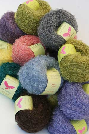 Be Sweet Yarn Knitting Patterns For Mohair Boucle