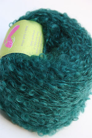 Mohair Boucle in Sea Green