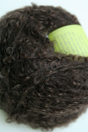 Mohair Boucle in Chocolate