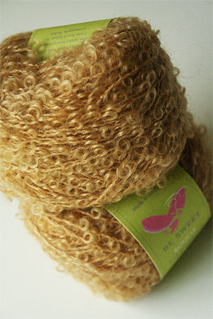 Mohair Boucle in Wheat
