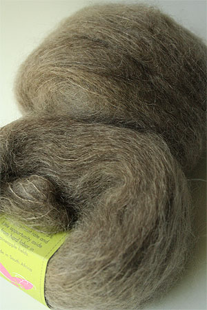 Be Sweet Medium Brushed Mohair in Mink