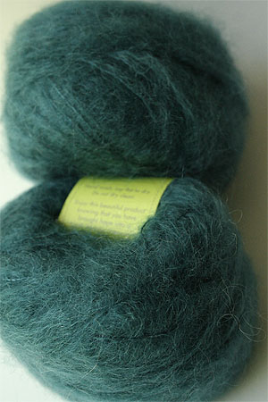 Be Sweet Medium Brushed Mohair in Lichen