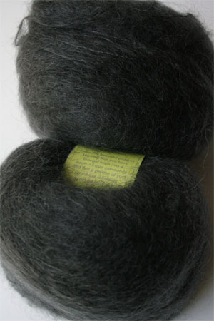 Be Sweet Medium Brushed Mohair in Charcoal