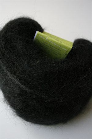 Be Sweet Medium Brushed Mohair in Black