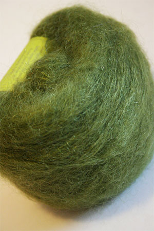 Be Sweet Brushed Mohair Olive Green