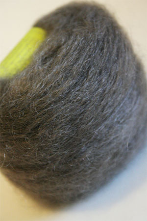 Be Sweet Brushed Mohair in Dark Grey