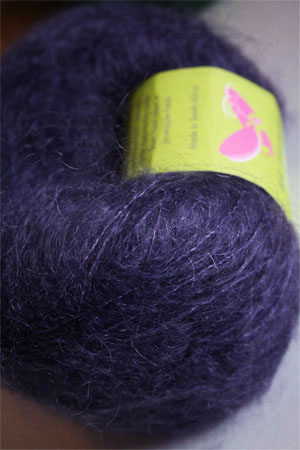 Be Sweet Brushed Mohair in Indigo