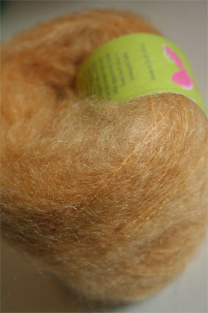 Be Sweet Brushed Mohair in Wheat