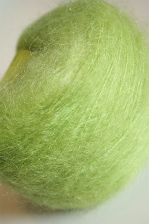 Be Sweet Brushed Mohair in Lime
