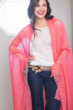 Be Sweet Lacey Luxury Shawl