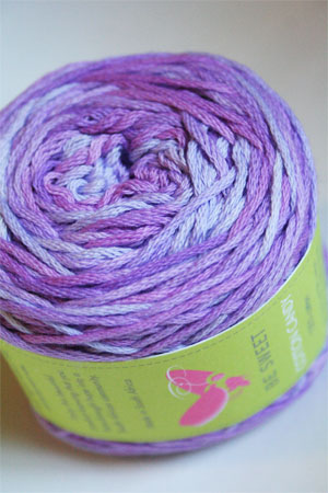 Be Sweet Cotton Candy in 17 Purple Mix DK Cotton