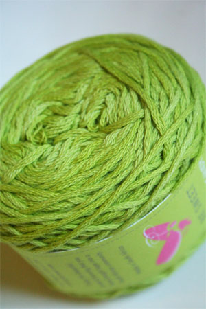 Be Sweet Cotton Candy in 509 Lime DK Cotton