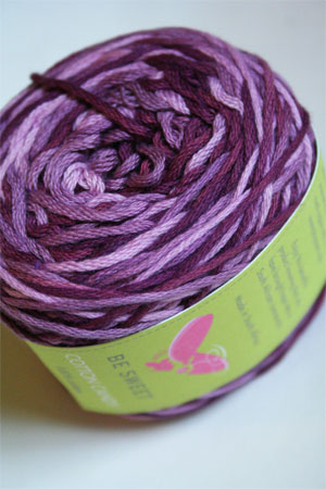 Be Sweet Cotton Candy in 18 Aubergine Mix DK Cotton