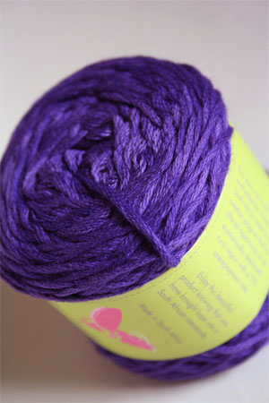 Be Sweet Cotton Candy in 526 Dark Purple DK Cotton
