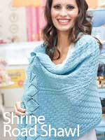 Shrine Road Shawl
