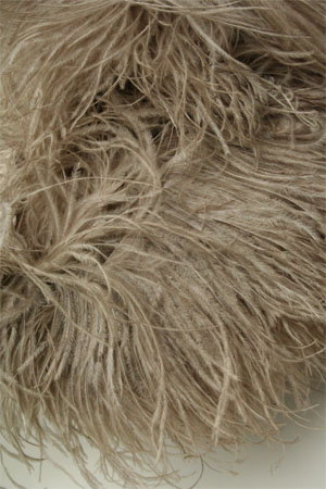 Be Sweet Mink Ostrich Feather Knitting Trim