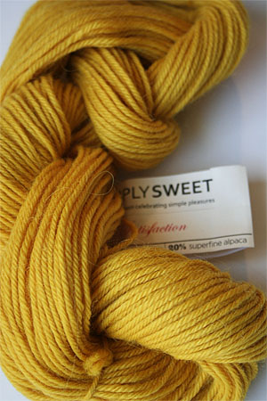Satisfaction yarn in MARIGOLD