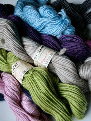 Be Sweet's Simply Sweet line of yarns