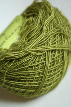 Be Sweet Skinny Yarn from Be Sweet Products 100% Skinny Knitting Yarn in Green Potion
